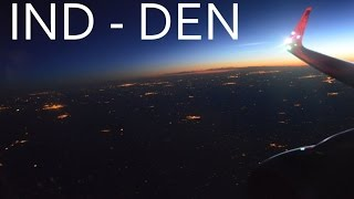 Frontier Airlines Airbus 321 Morning Flight (FT609): Indianapolis to Denver