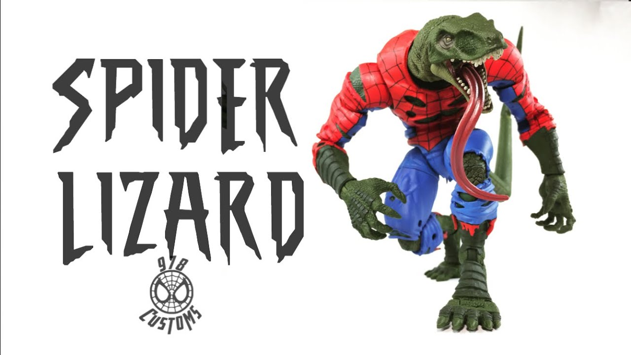 Marvel Spider-Man Lizard Action Figure