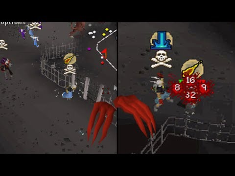 ALMOST LOST DRAGON CLAWS!? - Deep Wilderness PKing Bloopers