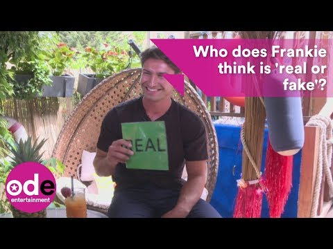 Who does Frankie think is 'real or fake' on Love Island?