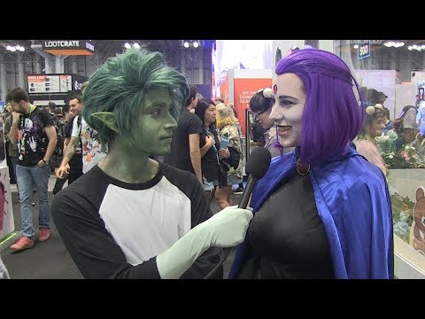 BEAST BOY Asks About Dating Warning Signs With RAVEN, TEEN TITANS And More At NYCC 2018