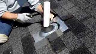 Md Roofing Services: Pipe Collar Repair on Roof in Bowie, MD