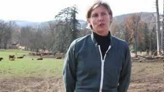 Véronique, éleveur Bovin viande, installée à Brignais