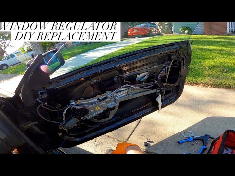 BMW E36 Window regulator install and troubleshooting DIY 1992-1998