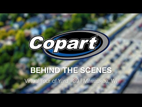 Copart: Behind The Scenes - Virtual Tour Tour Of Yard 39 | Milwaukee, WI