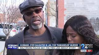 Husband, Step Daughter In Jail For 'Pan Handler' Murder