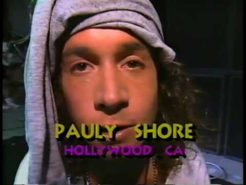 Pauly Shore Invades Alice Cooper tour rehearsals 1991