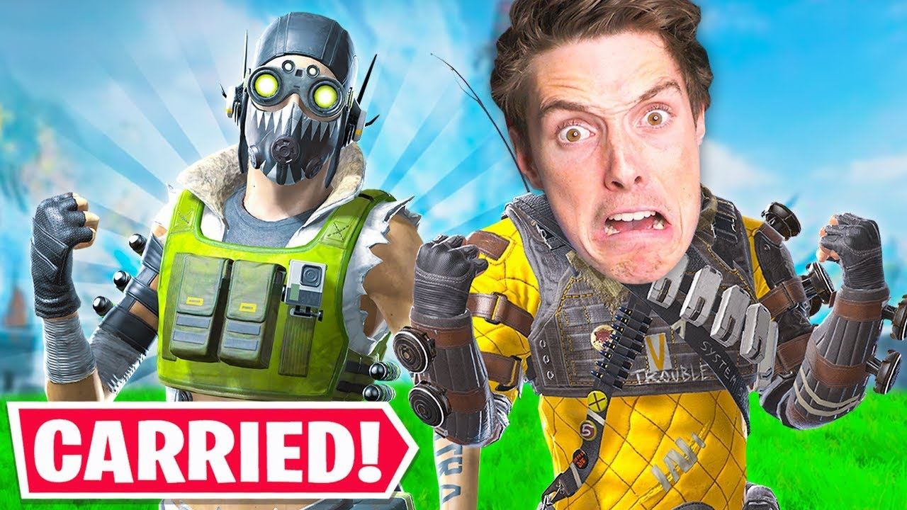 Download I Got CARRIED by LazarBeam and a PRO in this... - Apex Legends