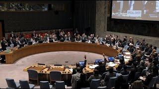 'بث مباشر' لاجتماع مجلس الأمن الدولي حول سوريا