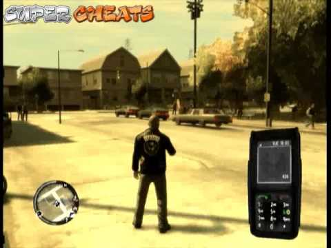 GTA 4: The Lost And Damned Cheats