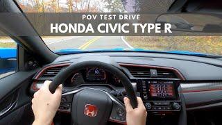 2020 Honda Civic Type R   POV TEST Drive