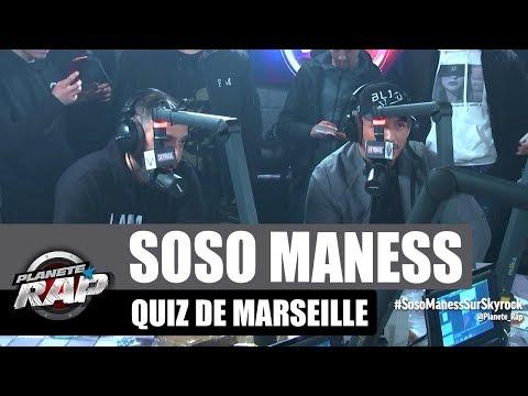 Youtube: Soso Maness Vs Hornet La Frappe – Quiz de Marseille #PlanèteRap