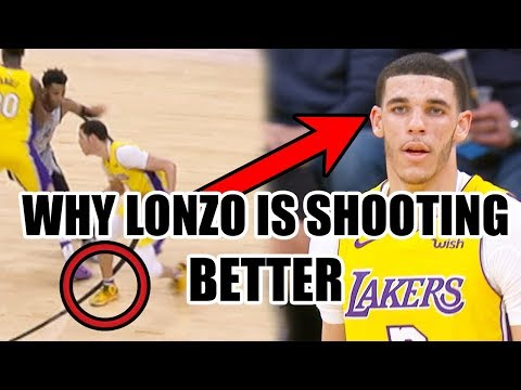 Why Lonzo Ball Is Shooting BETTER In The NBA