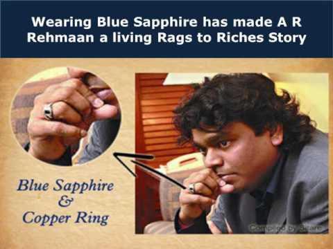 Celebrities who Love Blue Sapphire Gemstone