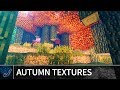 Minecraft Java: AUTUMN TEXTURE PACK WITH SHADERS - Minecraft 1.12 Realistic Textures