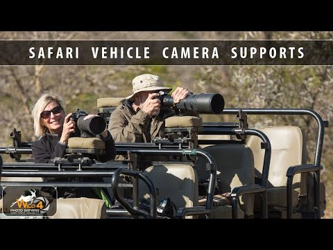 Safari Vehicle Camera Supports designed & used by WILD4 African Photographic Safaris