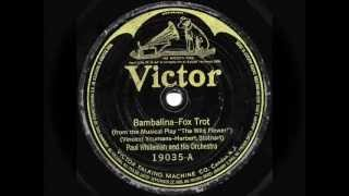 "Paul Whiteman & His Orchestra - ""Bambalina"" & The Great White Way Orchestra - ""Lady Butterfly"""