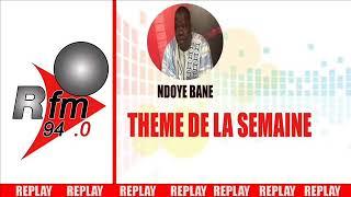 REPLAY - AUDIO THEME DE LA SEMAINE