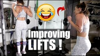 Improving lifts & How I Found/Find Happiness with a Bad Past? Season 2 Vlog 50
