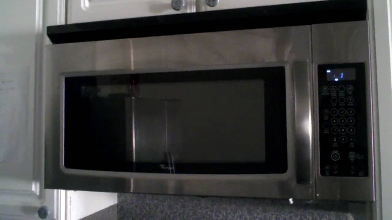 Whirlpool Microwave Wmh1162xvs Oven Problem Youtube