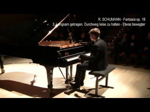 Pavel Kolesnikov: R. Schumann Fantasia in do maggiore, op. 17, III