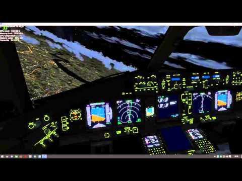 P3D v3 OOM test night HT OFF AF OFF