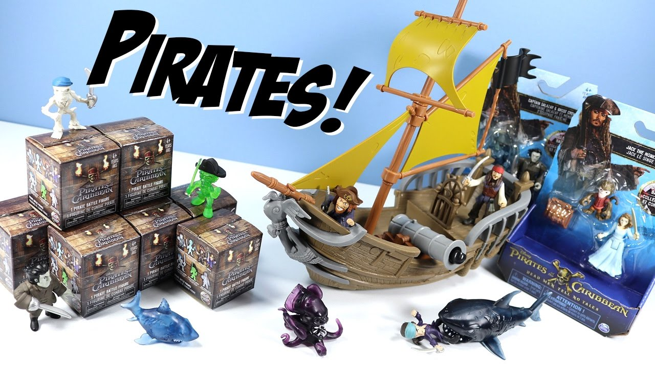 Was pirate of the caribbean toys