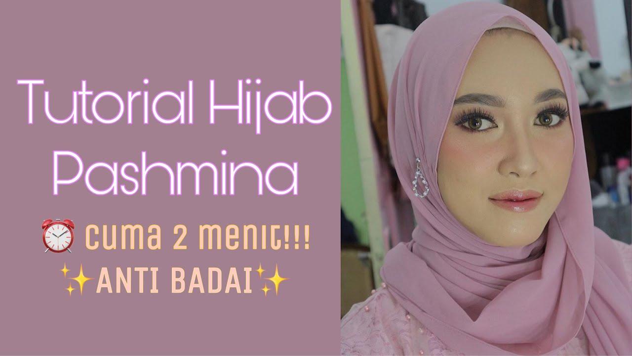 Tutorial Hijab Pashmina Simple Kekinian Acara Kondangan Wisuda Pesta Youtube