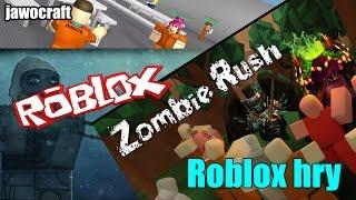 Roblox - Zobie Rush, Prison Life | Zaznam LS | SK/CZ w/Lakotyr