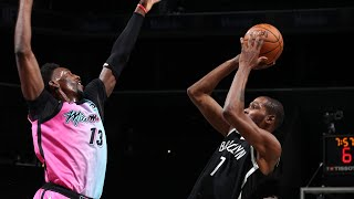 Nets Spoil Bam Adebayo's 41 Pts Career High! 2020-21 NBA Season