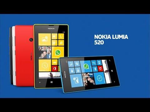 Прошивка телефона Nokia Lumia 520