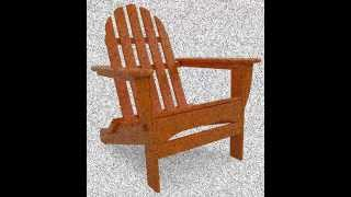 Best Polywood Classic Folding Adirondack Chair