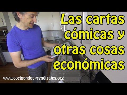 Las cartas cómicas y otras cosas económicas: dinámica divertida, de creatividad y comunicación