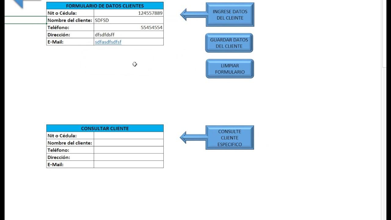 Plantilla Gratis Automatizada en Excel para ingresar datos GRATIS ...