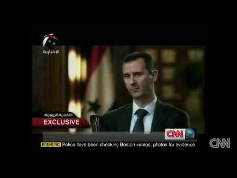 Syrian President Warns USA Stop Backing al Qaeda Terrorists