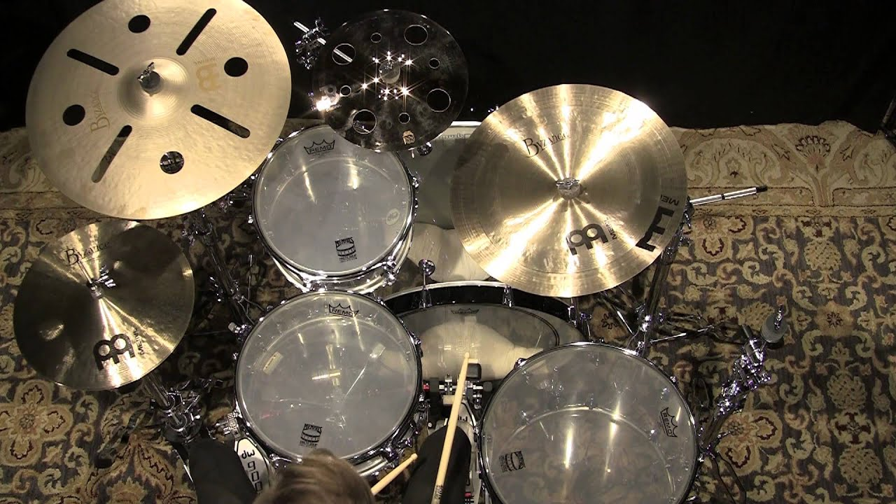 meinl cymbal stack played by luke holland set 1092614qq youtube. Black Bedroom Furniture Sets. Home Design Ideas