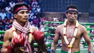 ចាន់ ប៊ុនលាប Chan Bunleap Vs (Thai) Ekaumnauy, 09/December/2018, BayonTV Boxing