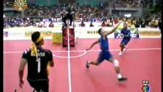 Thailand Vs Malaysia'' Final ''2011 Sepak Takraw World Cup Part 2