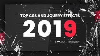 Top CSS Effects | January 2019