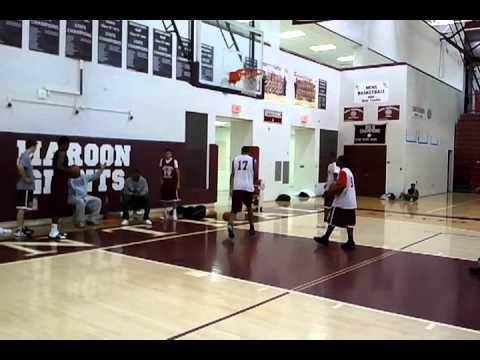 Kalamazoo Central Basketball Simeon Smith Dunk.
