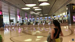 Singapore Changi Airport Terminal 4   DJI OSMO MOBILE + iPHONE 8