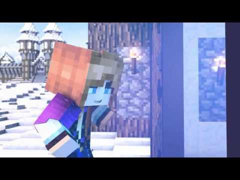 Прикол песня Анны из Холодного сердца в Minecraft