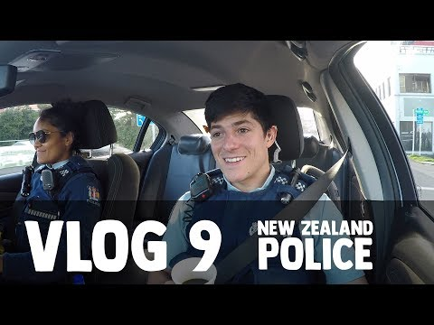 New Zealand Police Vlog 9: Lights and Sirens