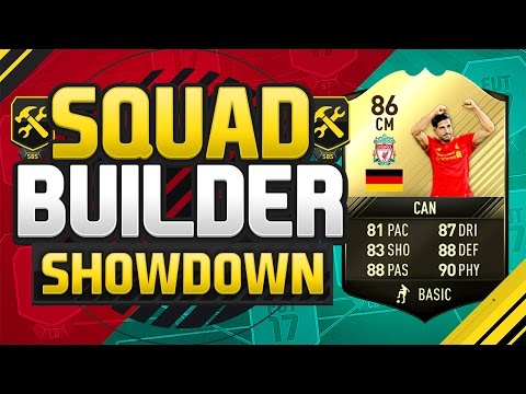 FIFA 17 SQUAD BUILDER SHOWDOWN!!! GULLIT GANG EMRE CAN!!! 86 Rated IF Can Squad Duel