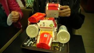 Что будет если съесть Бигмак, Картошку фри, горчичный соус и колу в Макдональдс ч2