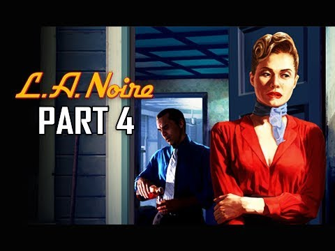 LA NOIRE Gameplay Walkthrough Part 4 - A Marriage Made in Heaven (5 STAR Remaster Let's Play)