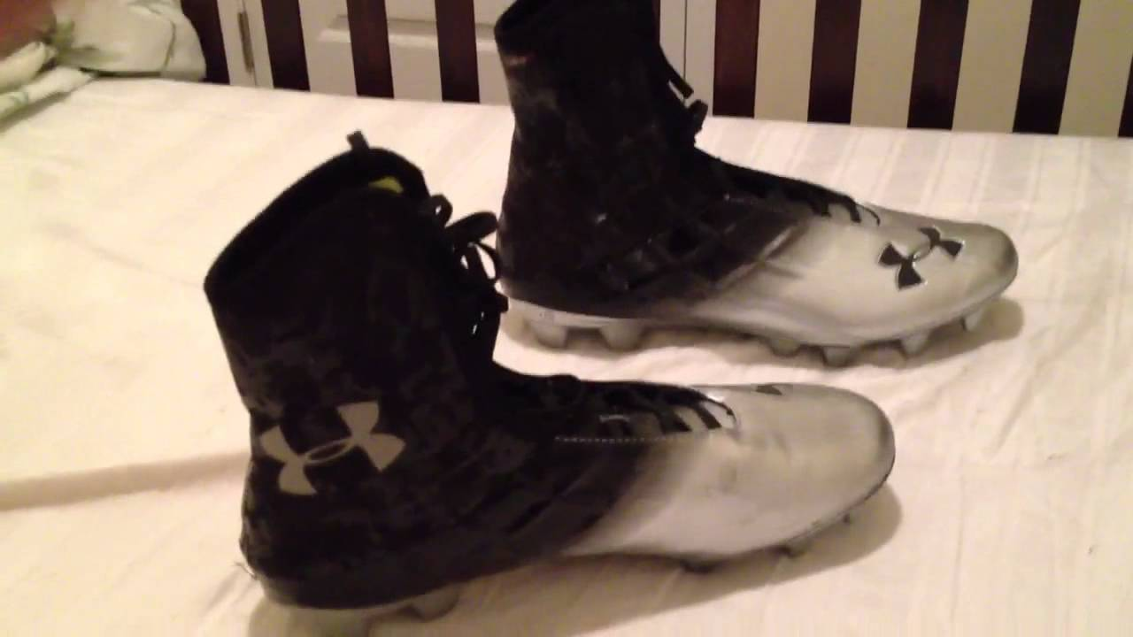 2c959445c1a9 Under Armour Highlight MC Cleats for Wide Receivers - YouTube