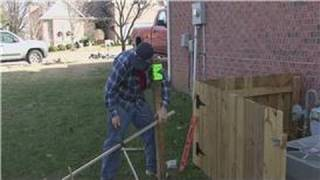 Home Improvement Projects : How To Set Fence Posts