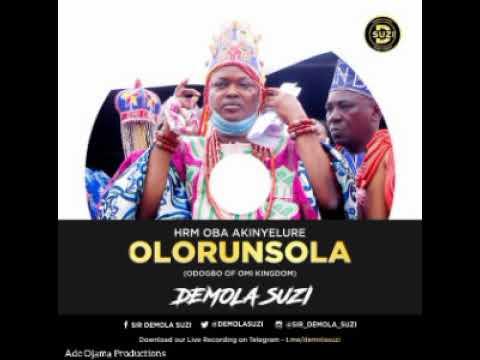 Download Sir Demola Suzi for Oba Odogbo of Omi