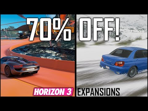 MERRY CHRISTMAS! Forza Horizon 3 - 70% OFF Expansion Pass! Horizon 3 Blizzard Mountain + Hot Wheels